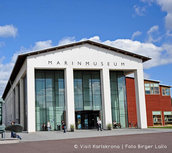 Marinmuseet © Visit Karlskrona | Foto Birger Lallo