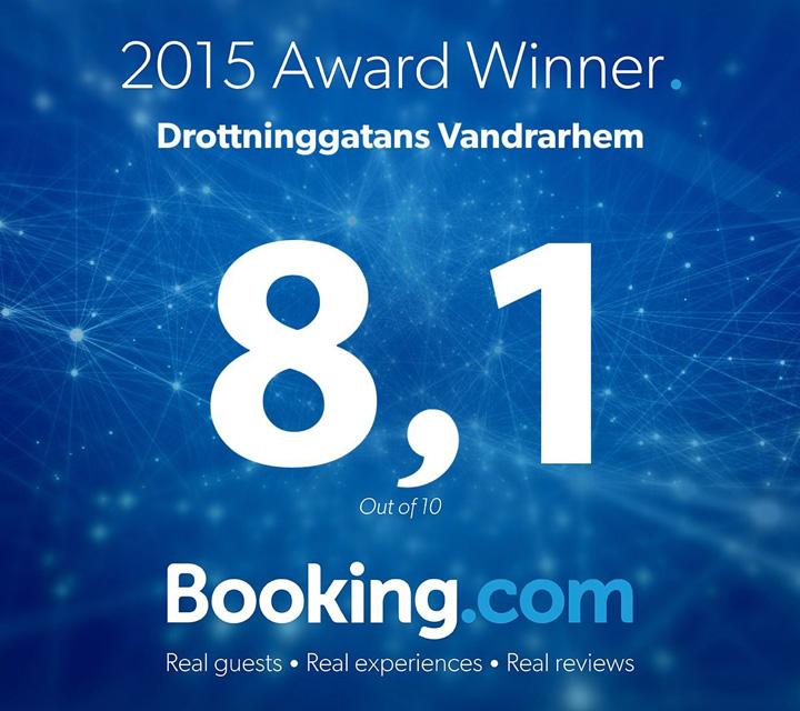 Tack alla gäster för 2015 och det fina betyg ni ger oss!