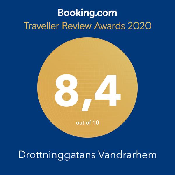 Högst snittbetyg på Booking.com 2019